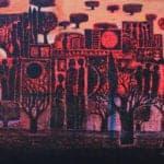 At Dawn, 2011, acrylic on canvas, 120 x 150 cm