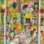 Land and People, 2007, mixed media on paper