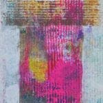 Untitled, 2006, mixed media on paper, 73 x 32 cm