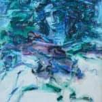Greek Drama, 2002, acrylic on canvas, 80 x 60 cm