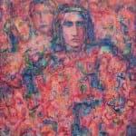 Palestine I, 2015, acrylic on canvas, 150 x 120 cm