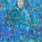 Palestine II, 2015, acrylic on canvas, 150 x 120 cm