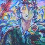 Untitled, 2011, acrylic on canvas, 60 x 60 cm
