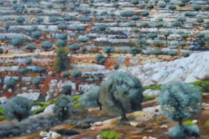 Taqi Sabateen, Al Salamiya, 2015 Acrylic on canvas, 130 x 150 cm