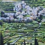 Batir, 2015, acrylic on canvas, 130 x 150 cm