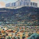 Untitled, 2015, acrylic on canvas, 150 x 130 cm