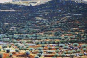 Taqi Sabateen, Untitled, 2015, acrylic on canvas, 150 x 130 cm