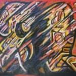 Heat, 2009, oil on canvas, 150 x 170 cm