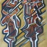 Chaos V, 2016, oil on canvas, 140 x 110 cm
