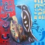 Arabi I, 2017, acrylic on canvas, 60 x 60 cm