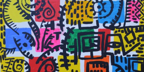 Winter Collective Palestinian Art Banner