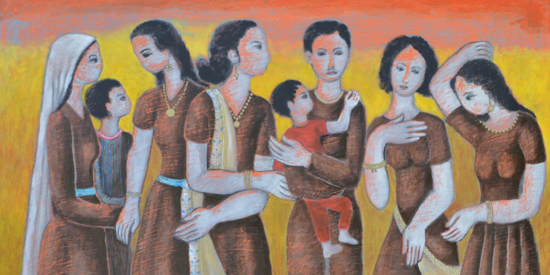 Nail Anani Palestinian Art Banner