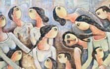Anani Mansour Barakat Palestinian Art Banner