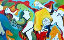 Karim Abu Shakra Palestinian Artist Banner