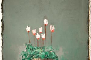 Karim Abu Shakra, Sabunet Alra'i (2020), oil on paper, 70 x 50 cm