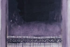 Asad Azi, Untitled (2009), oil on canvas, 80 x 60 cm