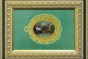 Mahdi Baraghithi, Frame #6, 2015, mixed media, 32.5 x 41 cm