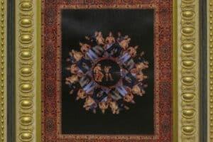 Mahdi Baraghithi, Frame #8, 2015, mixed media, 41 x 32.5 cm