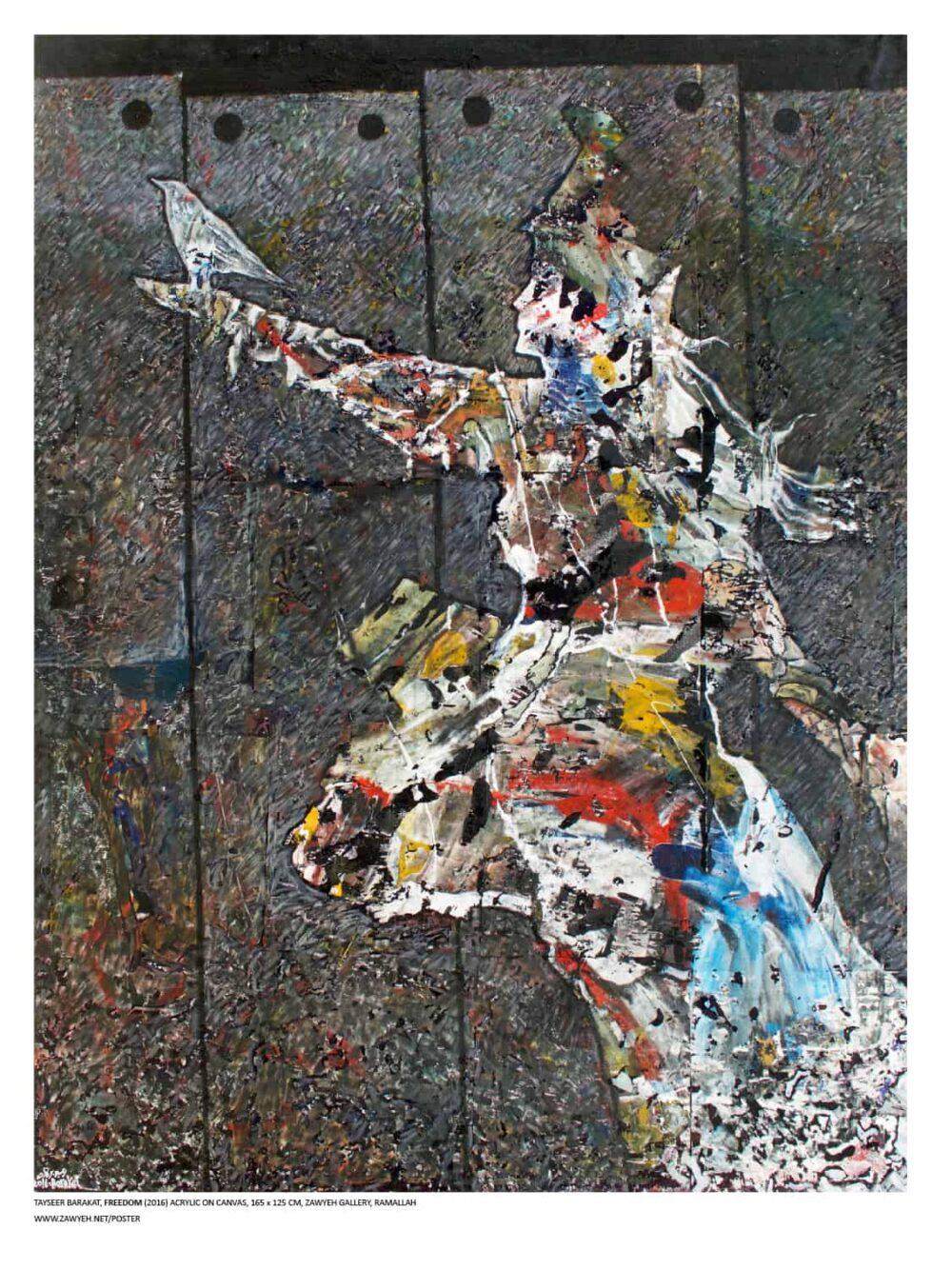 Freedom #2 by Tayseer Barakat
