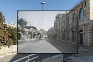 Jack Persekian, Deserted Jaffa Road, 2019, Fine Art Paper, 35 × 50 cm