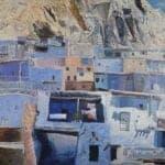 Ma'lula, 1968, oil on canvas, 112 x 160 cm