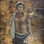 Untitled, 1962, oil on board, 37 x 27 cm
