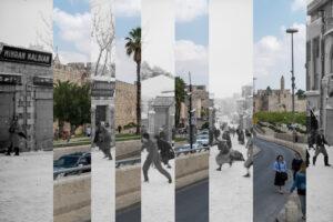 Jack Persekian, Snowballing (2019), collage, edition of 2 (+AP), 53 x 81 cm