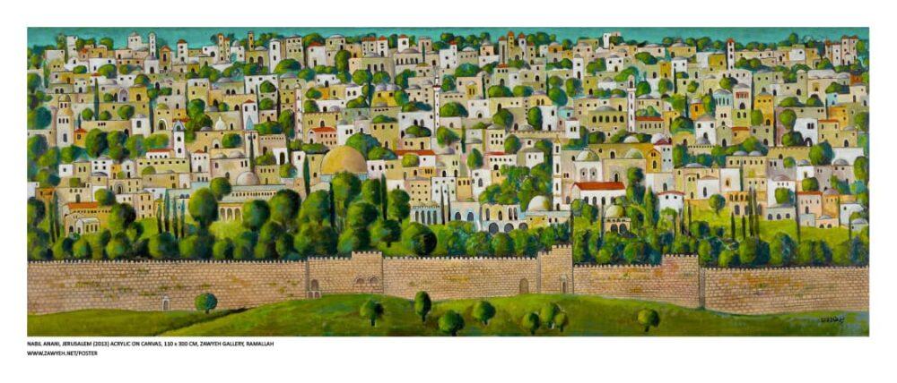 Jerusalem by Nabil Anani