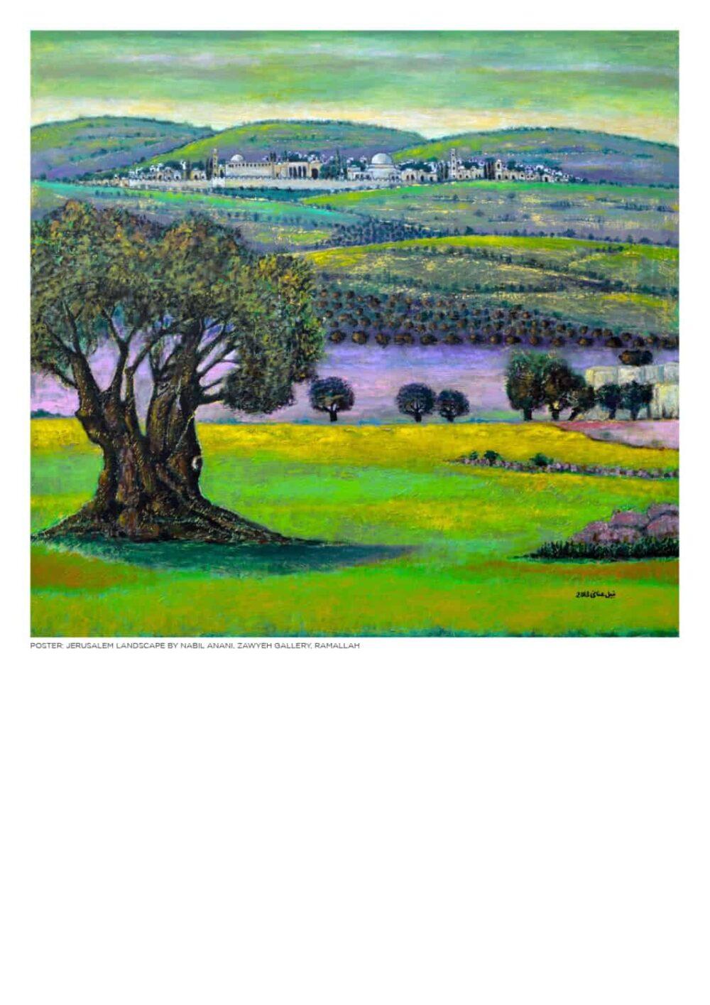 Jerusalem Landscape by Nabil Anani