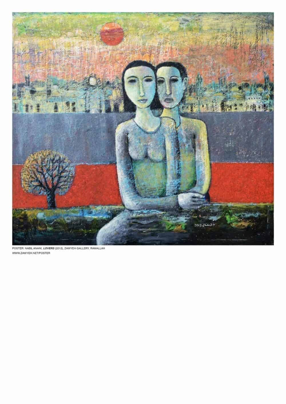 Lovers by Nabil Anani