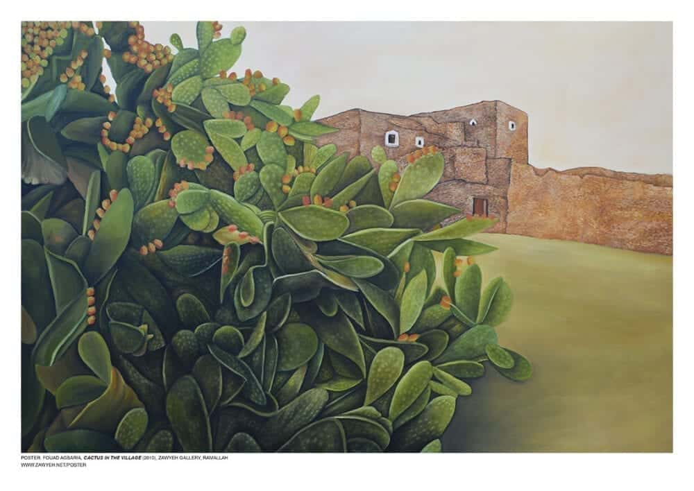 Cactus in the Village by Fouad Agbaria
