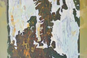 Bashar Khalaf, In Search of a Portrait #6, 2019, oil on canvas, 80 x 65 cm