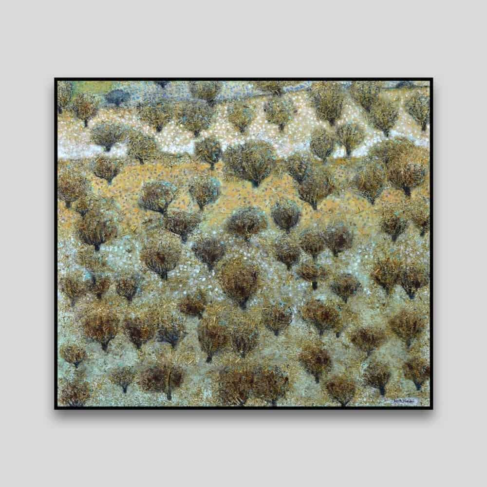 Olive Groves #2 by Nabil Anani - Canvas