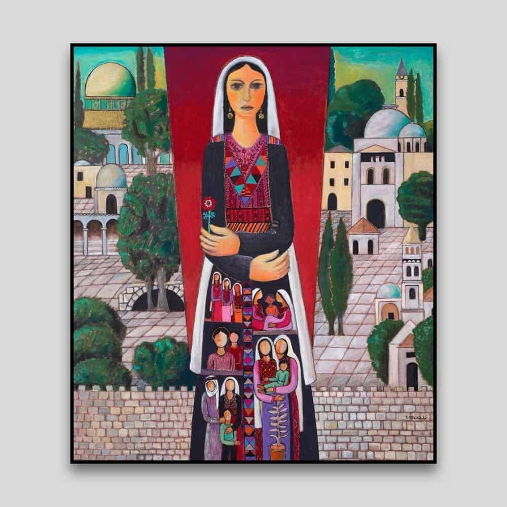 Holyland by Nabil Anani - Canvas