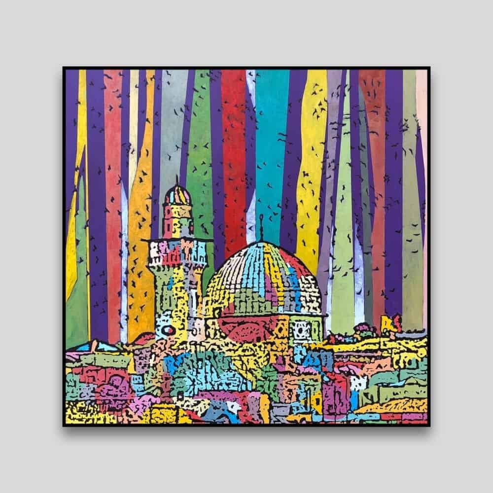 City of Peace by Fouad Agbaria - Canvas