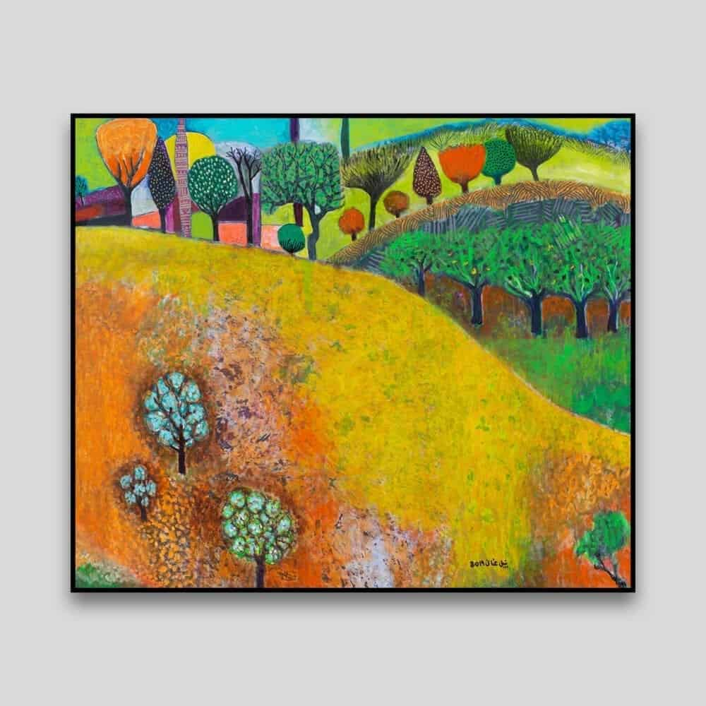 Landscape Dream II by Nabil Anani - Canvas
