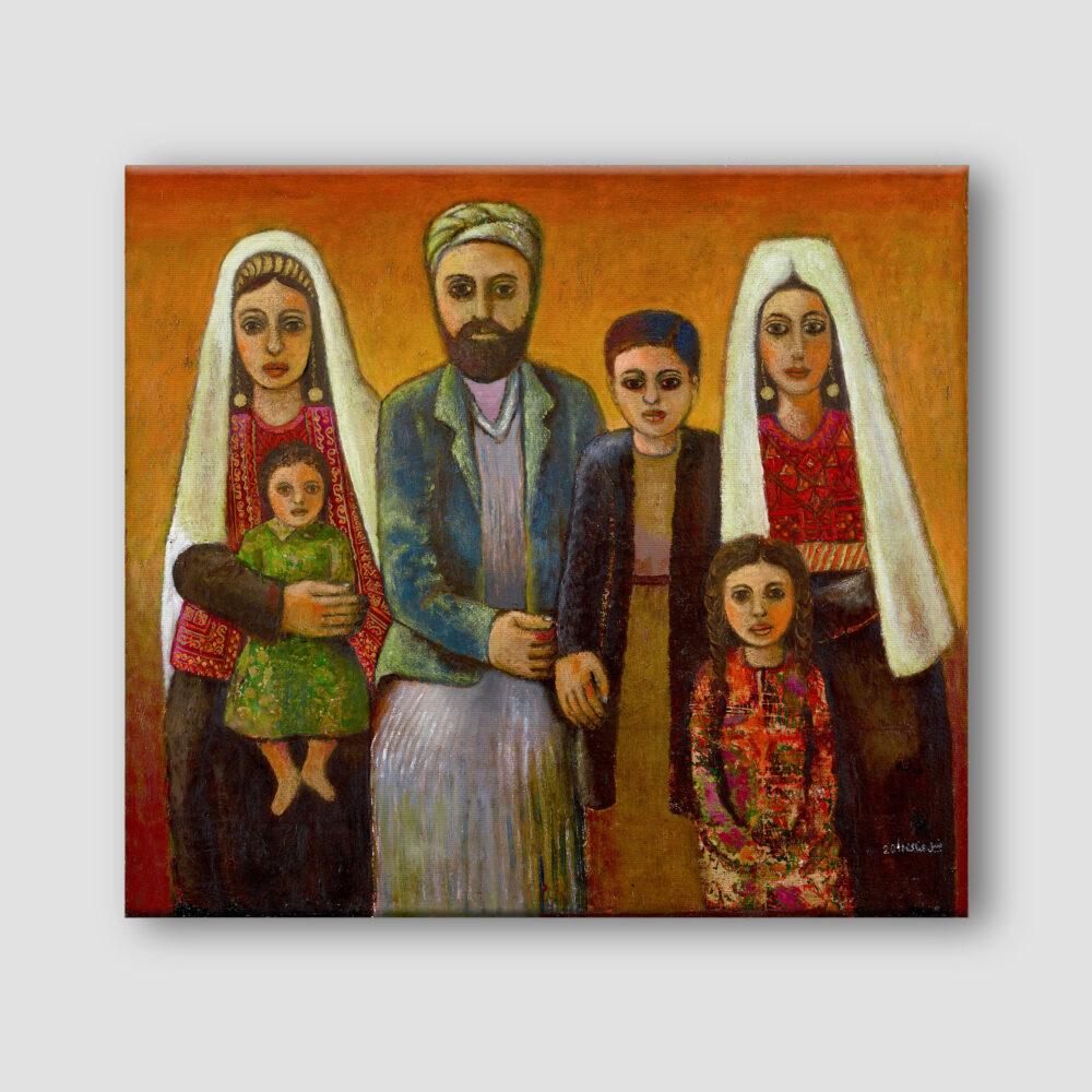 Dabdoub Family by Nabil Anani