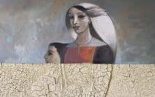 Art Dubai 2020 Palestinian Art Banner - Sliman Mansour