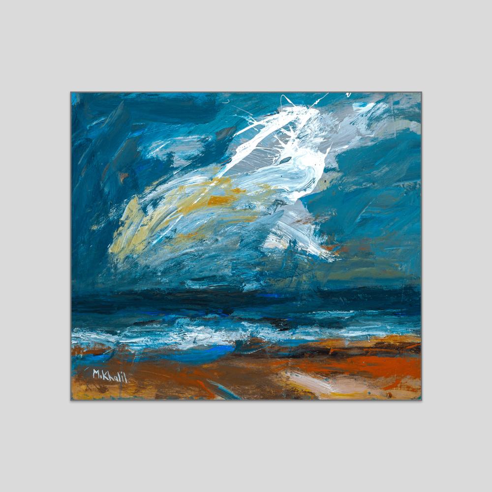 Mohammad Saleh Khalil Seascape canvas print