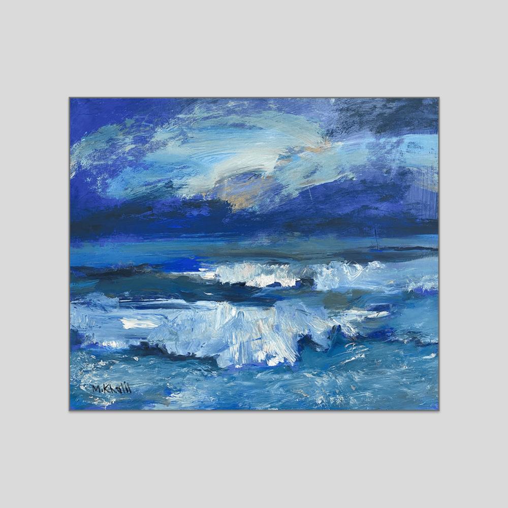 Seascape canvas print mohammad khalil