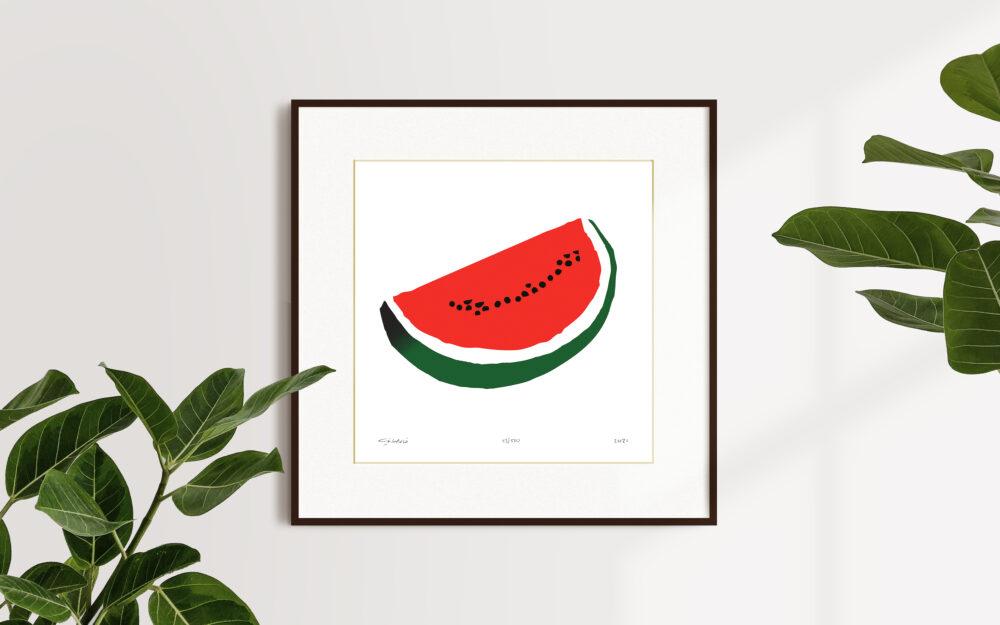 Watermelon Khaled Hourani
